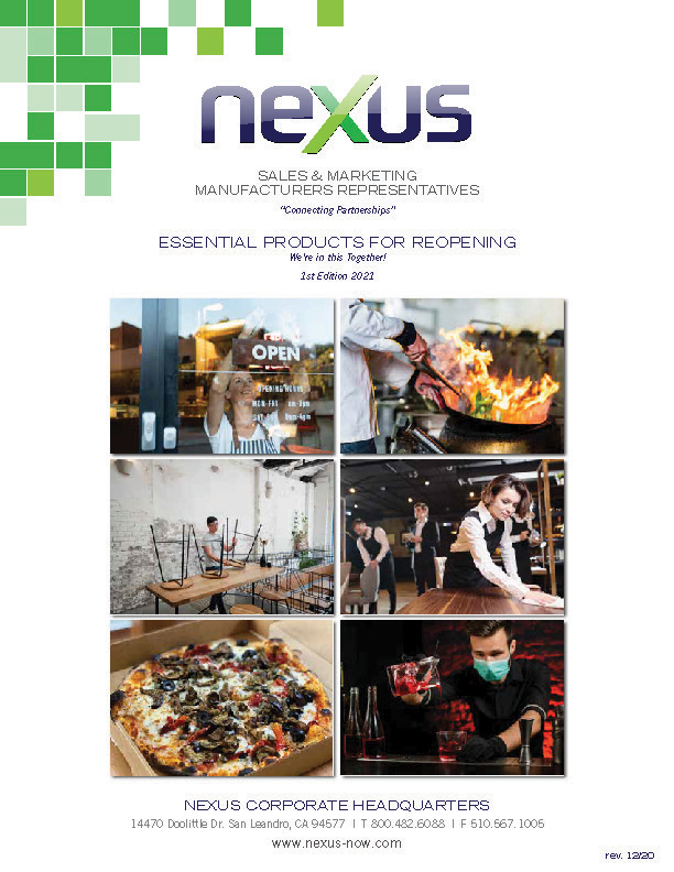 Nexus Essential Products for Reopening Guide