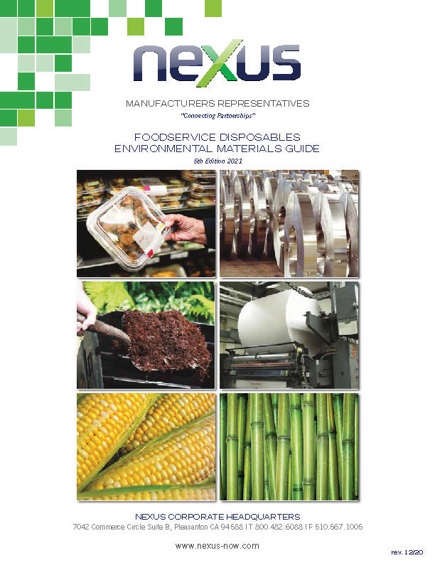Foodservice Disposables Environmental Materials Guide