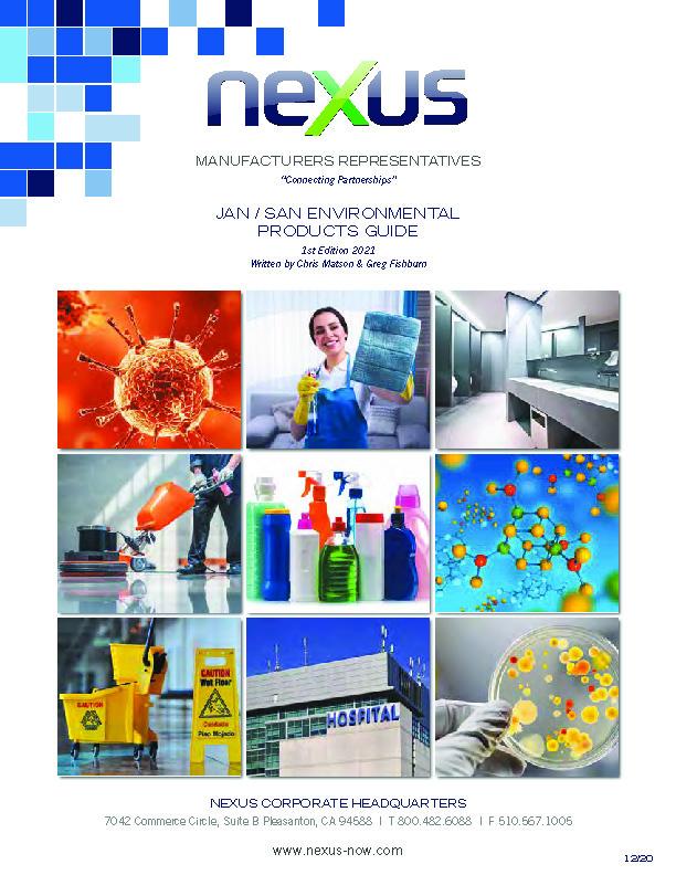 Nexus Jan/San Environmental Materials Guide